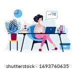stay at home  social distancing ...   Shutterstock .eps vector #1693760635