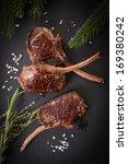 venison chops | Shutterstock . vector #169380242