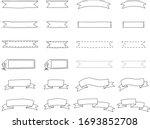 handwriting title decoration...   Shutterstock .eps vector #1693852708