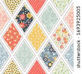 seamless pattern with... | Shutterstock .eps vector #1693925005
