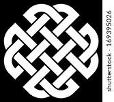 celtic quaternary knot isolated ... | Shutterstock .eps vector #169395026