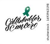 vector gallbladder cancer... | Shutterstock .eps vector #1693963198