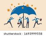 coronavirus protection safe... | Shutterstock .eps vector #1693999558