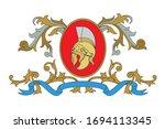 a coat of arms crest heraldic... | Shutterstock .eps vector #1694113345