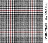 black  red and white modern...   Shutterstock .eps vector #1694265418