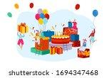 Giant Birthday Present Boxes...