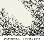 Old Autumn Hip Rose Ash Tree...