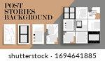 design backgrounds for social...   Shutterstock .eps vector #1694641885