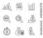 financial analysis  business... | Shutterstock .eps vector #1694681278