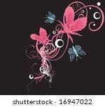 illustration of a floral... | Shutterstock .eps vector #16947022