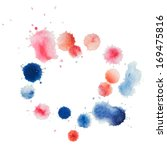 abstract water color template... | Shutterstock .eps vector #169475816