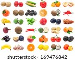 collection of various fruits... | Shutterstock . vector #169476842