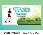 running men and women sports... | Shutterstock .eps vector #1694779558