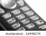 macro of telephone buttons... | Shutterstock . vector #16948174