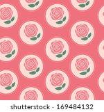 floral seamless pattern... | Shutterstock .eps vector #169484132