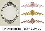 ornament greeting card vector... | Shutterstock .eps vector #1694869492