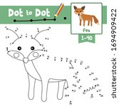 dot to dot educational game and ... | Shutterstock .eps vector #1694909422