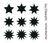 stars set from five to thirteen ... | Shutterstock .eps vector #1694962795