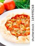 tomato galette | Shutterstock . vector #169498268