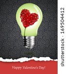 happy valentine  | Shutterstock .eps vector #169504412