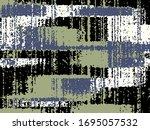 abstract grunge vector... | Shutterstock .eps vector #1695057532