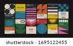 new modernism aesthetics in... | Shutterstock .eps vector #1695122455