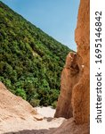 Small photo of Natural Architecture Lame Rosse, Monti Sibillini, Italy
