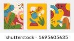 bundle of modern vector...   Shutterstock .eps vector #1695605635