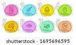 candlestick chart  group and...   Shutterstock .eps vector #1695696595