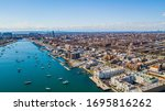 Aerial Sheepshead Bay Brooklyn NY