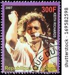 congo   circa 2007  a postage... | Shutterstock . vector #169582598