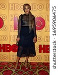 Small photo of LOS ANGELES - SEP 17: Amanda Seales at the HBO After Party at Pacific Design Center on September 17, 2017 in West Hollywood, CA
