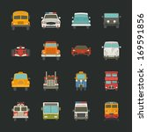 ambulance,auto,automobile,bus,cabriolet,car,cartoon,collection,commercial,design,drive,element,engine,fire,flat