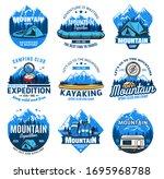 sport tourism and outdoor...   Shutterstock .eps vector #1695968788