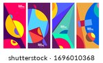 cover and poster design... | Shutterstock .eps vector #1696010368