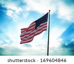 flag of united states of... | Shutterstock . vector #169604846