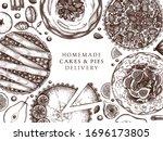fruit and berry deserts design. ...   Shutterstock .eps vector #1696173805