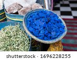 Indigo And Spices At A Shop In...