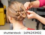Weave Braid Girl In A Long Hair ...