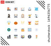 universal icon symbols group of ... | Shutterstock .eps vector #1696356775