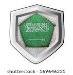 soccer shield saudi arabia   Shutterstock . vector #169646225