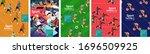 sport games  vector... | Shutterstock .eps vector #1696509925