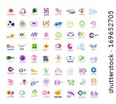 business icons set   isolated... | Shutterstock .eps vector #169652705