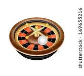 casino roulette isolated on... | Shutterstock .eps vector #169655216