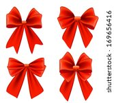 set of bows | Shutterstock .eps vector #169656416
