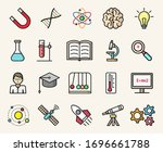 science and education colorful...   Shutterstock .eps vector #1696661788