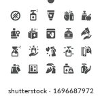 antiseptic well crafted pixel... | Shutterstock .eps vector #1696687972