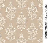 Stock vector seamless vintage vector pattern 169670282