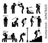 human disease illness sickness... | Shutterstock .eps vector #169678325