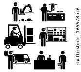 business ecosystem between... | Shutterstock .eps vector #169678556